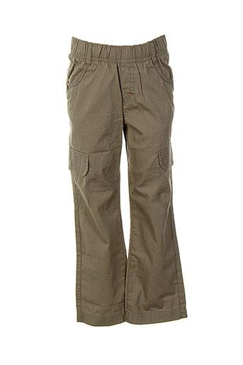 absorba pantalons et decontractes garcon de couleur marron