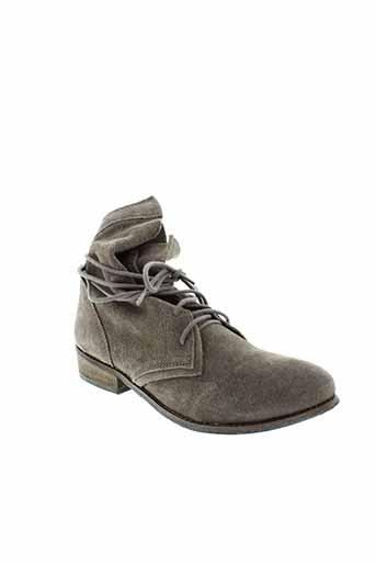 metamorf et ose boots femme de couleur gris