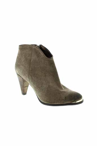 myma boots femme de couleur marron