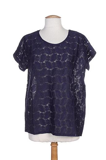 bella jones chemises femme de couleur bleu