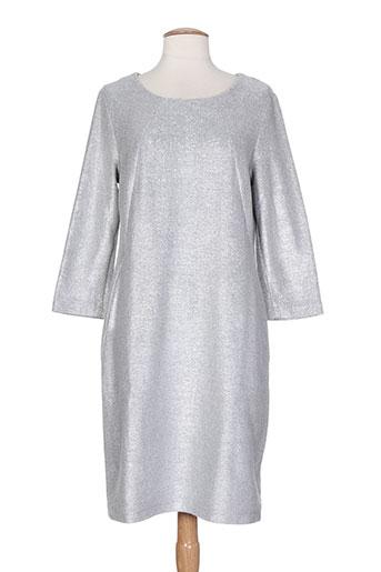 caroline biss robes femme de couleur gris