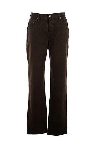 c.seventeen jeans femme de couleur marron