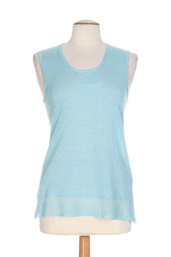 olsen chemises femme de couleur bleu
