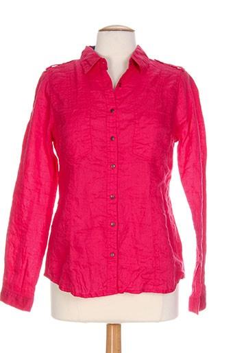 c'est beau la vie chemises femme de couleur rose