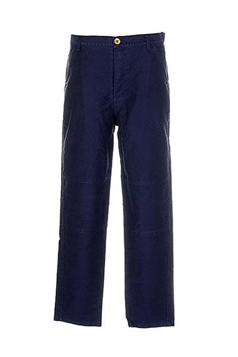 comme des garcons pantalons homme de couleur violet