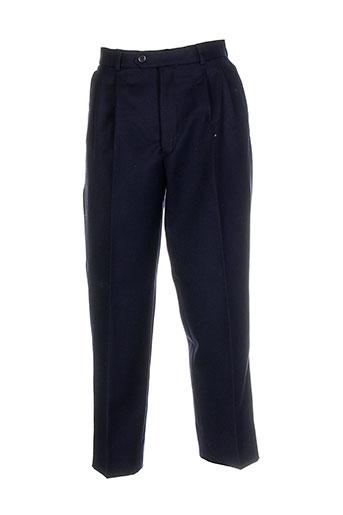 daudignon pantalons homme de couleur bleu