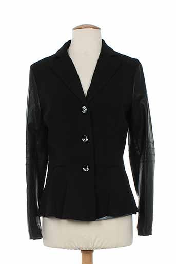 eroke vestes femme de couleur noir