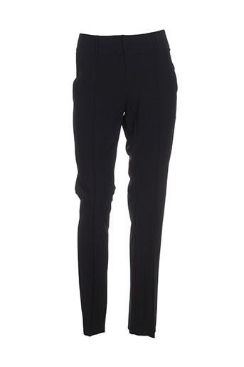 alma libre pantalons femme de couleur noir