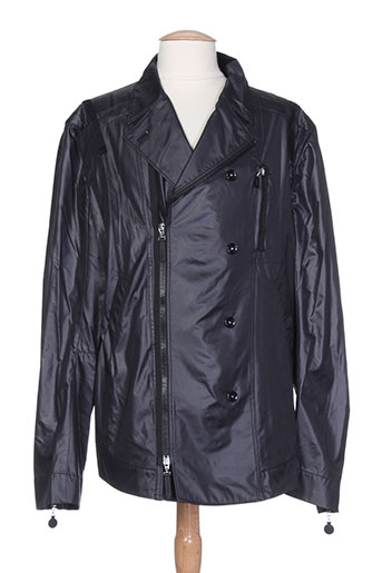high vestes homme de couleur noir