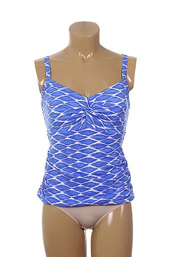 christina maillots de bain femme de couleur bleu