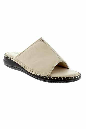 gf et confort sandales et nu et pieds femme de couleur beige