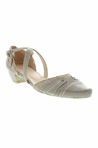 pietro bianchi chaussures femme de couleur gris