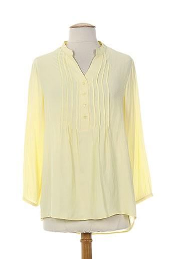 les bonheurs de sophie chemises femme de couleur jaune