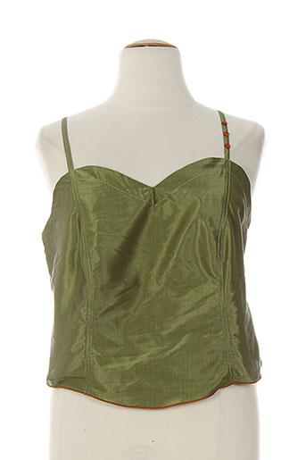 rosa rosam chemises femme de couleur vert