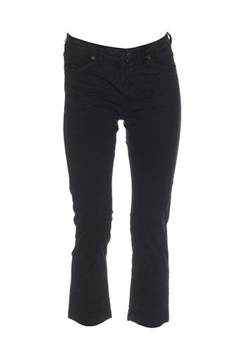 jacky-o by modarelli pantalons femme de couleur noir