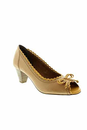 marco et tozzi escarpins femme de couleur marron