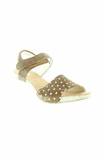 think sandales et nu et pieds femme de couleur beige
