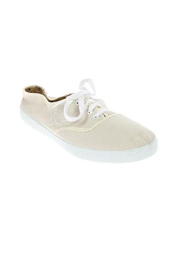 kiss and walk chaussures femme de couleur beige