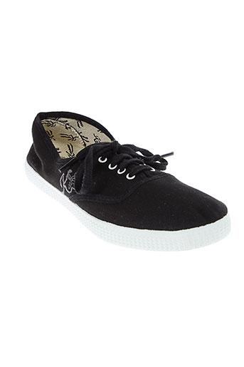 kiss and walk chaussures femme de couleur noir