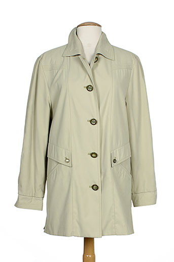 claude havrey vestes femme de couleur vert