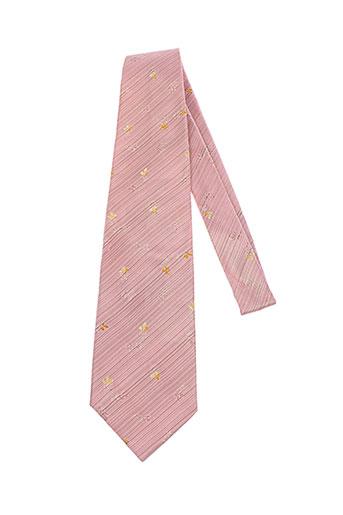 artesie cravates homme de couleur rose