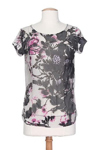 T-shirt manches courtes gris I'M ISOLA MARRAS pour femme