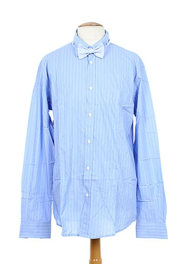 mason's chemises homme de couleur bleu