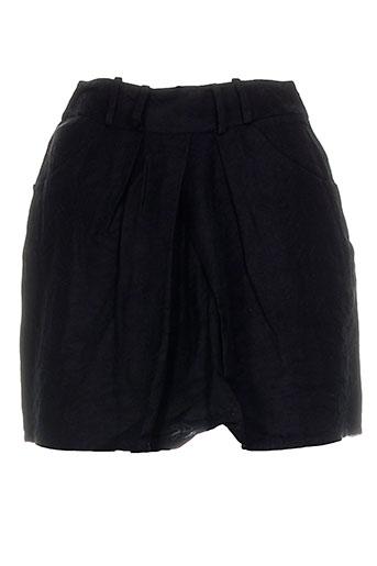 Jupe courte noir DEVASTEE pour femme