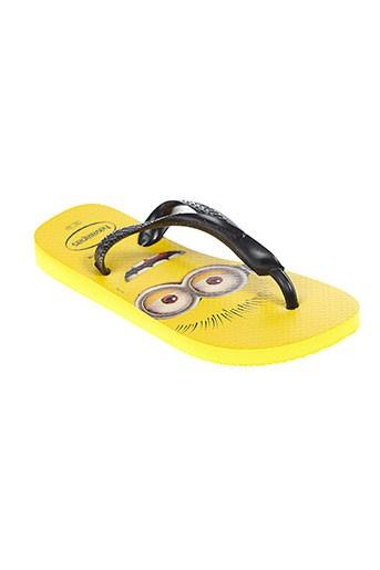 havaianas chaussures femme de couleur jaune