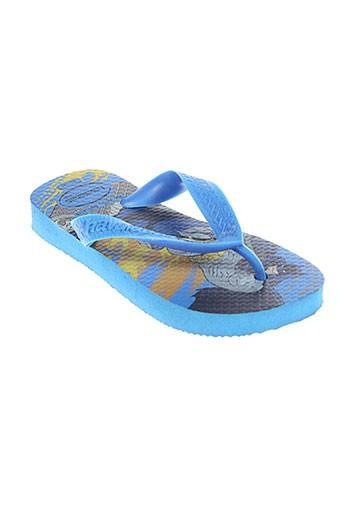 Tongs bleu HAVAIANAS pour garçon