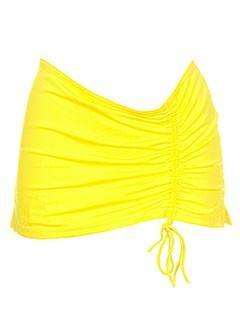 Mini-jupe jaune JOHN GALLIANO pour femme
