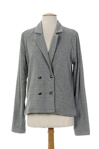 ddp vestes femme de couleur gris