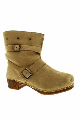 bosabo chaussures femme de couleur beige