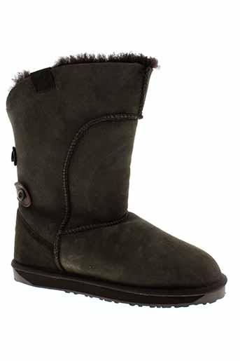 emu et australia boots homme de couleur marron