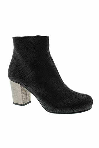 jhay boots femme de couleur noir
