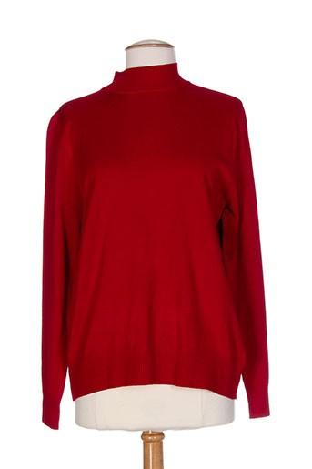 casamia pulls femme de couleur rouge