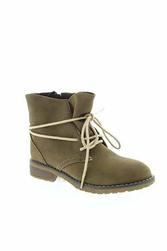 pep et step boots enfant de couleur marron
