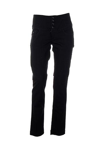 tiffosi pantalons et decontractes femme de couleur noir