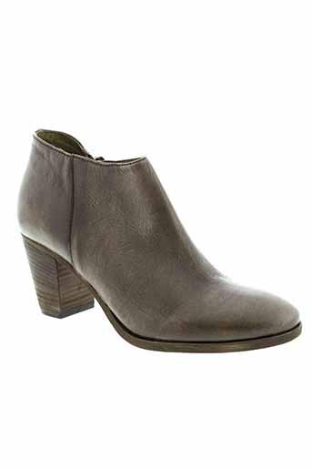 life chaussures femme de couleur marron
