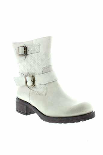 mtng boots femme de couleur gris