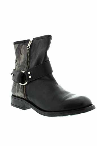 lsq boots femme de couleur noir