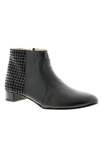 intemporelle et by et francis et larre boots femme de couleur noir