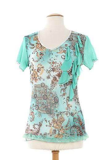 finette chemises femme de couleur vert