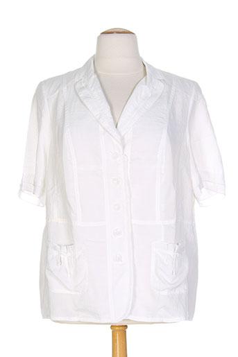 gelco vestes femme de couleur blanc
