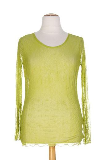 kakie chemises femme de couleur vert