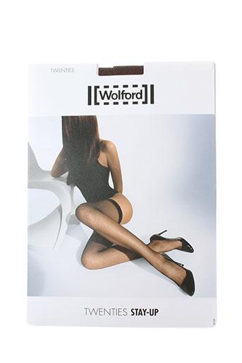 wolford lingerie femme de couleur marron