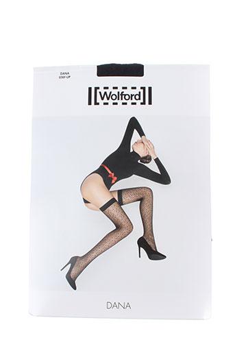 wolford lingerie femme de couleur noir