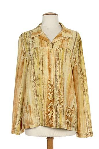 maryvet vestes femme de couleur jaune