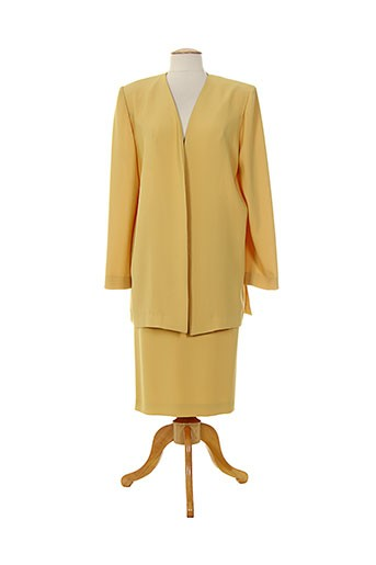 Veste/jupe jaune CARLOTTA PUGLIESE pour femme