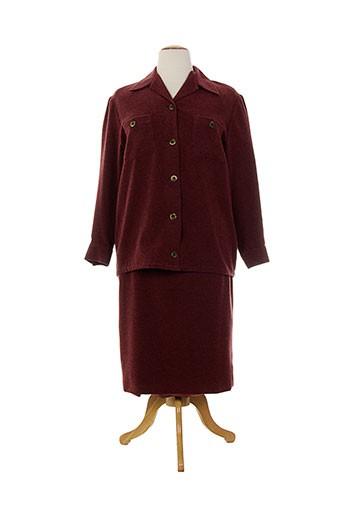 Veste/jupe rouge CHARLES LORENS pour femme